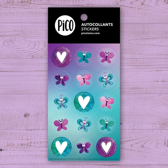 Pico Tatouages Temporaires Pico Tatoo - Stickers, Butterflies