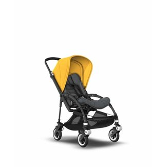 Bugaboo DEMO SALE - Bugaboo Bee5 - Complete Stroller, Black Frame/Grey Yellow