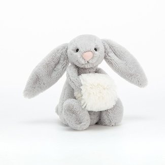 Jellycat Jellycat - Bashful Snow Bunny, Grey 7''