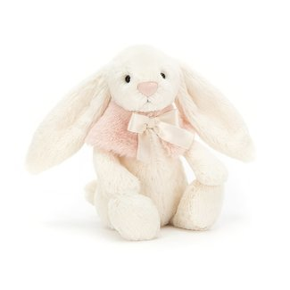 Jellycat Jellycat - Bashful Snow Bunny, Cream 7''