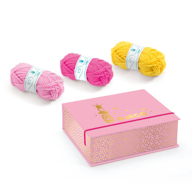 Djeco Djeco - Knitting Set, Princess