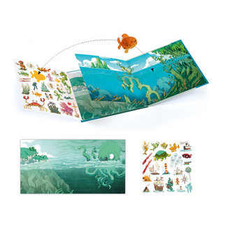Djeco Djeco - Stickers Set, Adventures at Sea