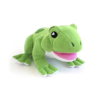 Soapsox Soapsox - Plush Animal for Soap, William the Frog
