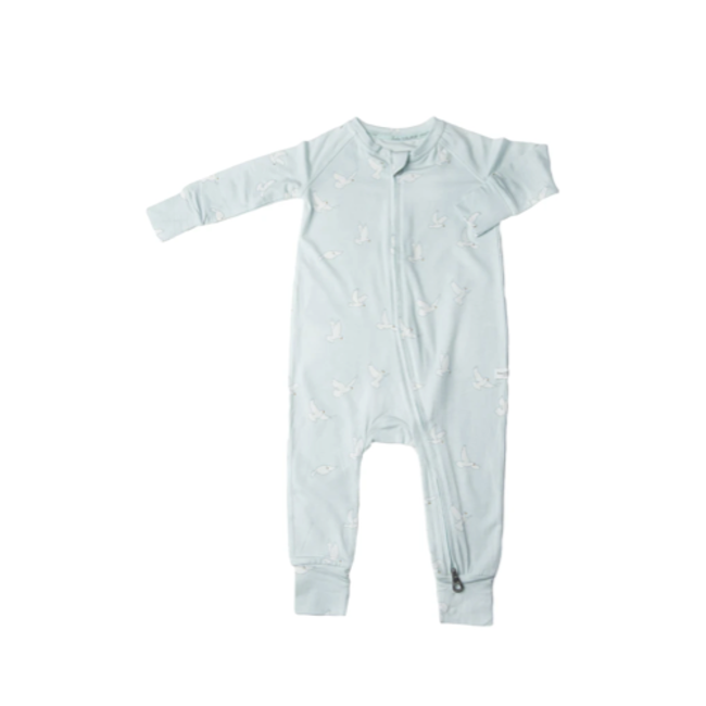 Loulou Lollipop Loulou Lollipop - Unisex Footie Pyjama, Peace Dove