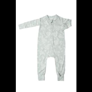 Loulou Lollipop Loulou Lollipop - Unisex Footie Pyjama, Fern