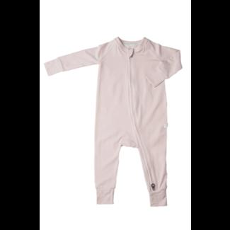 Loulou Lollipop Loulou Lollipop - Footie Pyjama, Sepia Rose