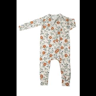Loulou Lollipop Loulou Lollipop - Unisex Footie Pyjama, Flower Vine