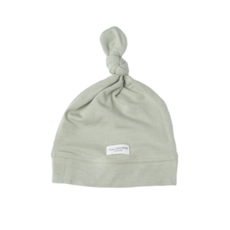 Loulou Lollipop Loulou Lollipop - Top Knot Beanie, Sage