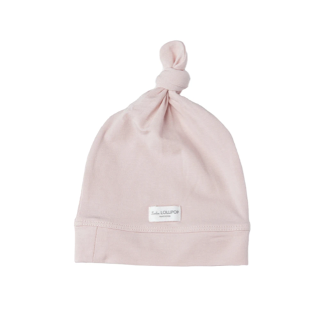 Loulou Lollipop Loulou Lollipop - Top Knot Beanie, Sepia Rose