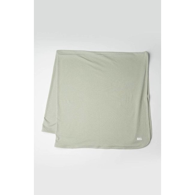 Loulou Lollipop Loulou Lollipop - Stretch Knit Blanket, Sage