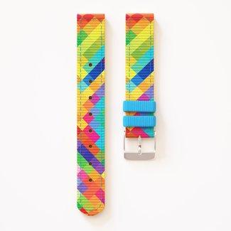 Twistiti Twistiti - Bracelet de Montre, Arlequin