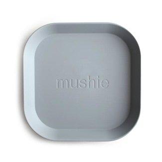 Mushie Mushie - Set of 2 Square Plates, Cloud