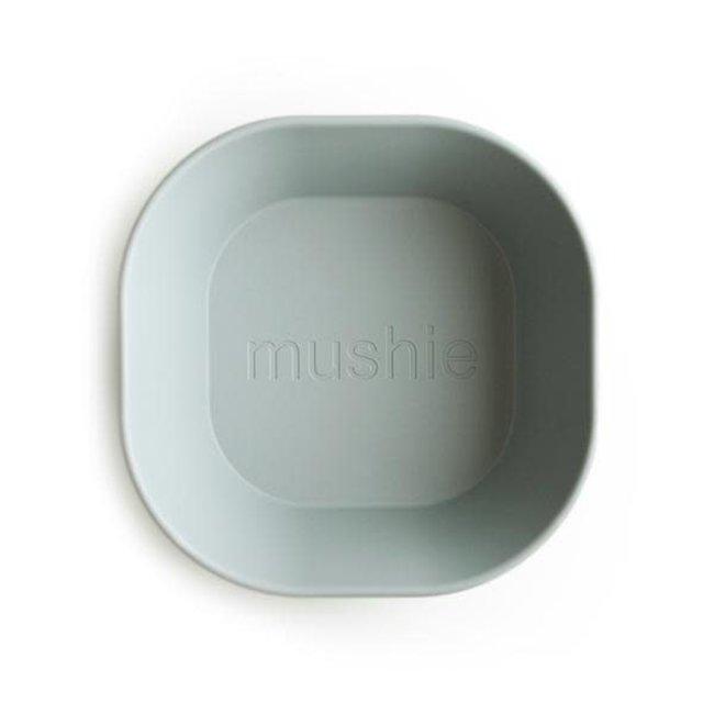 Mushie Mushie - Set of 2 Square Bowls, Sage