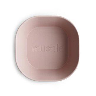 Mushie Mushie - Set of 2 Square Bowls, Blush