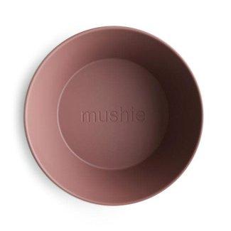 Mushie Mushie - Set of 2 Round Bowls, Woodchuck