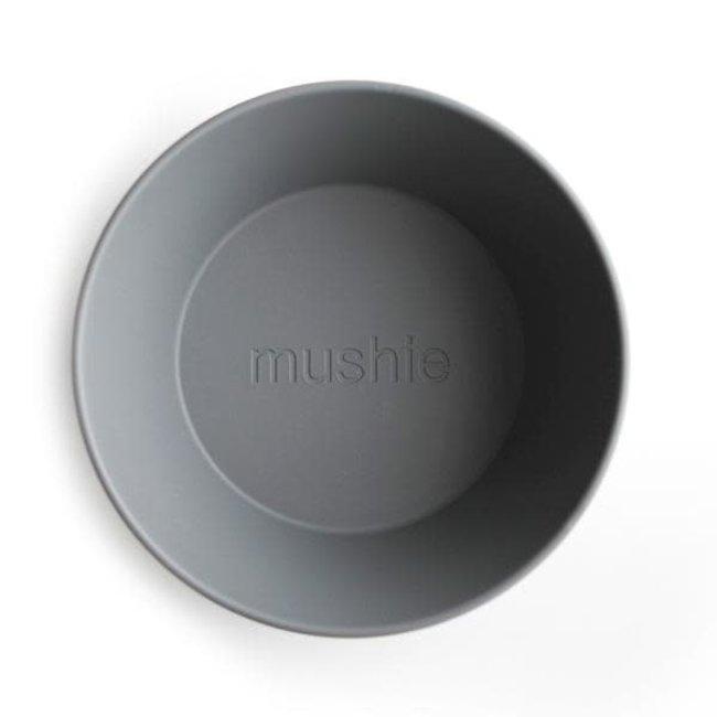 Mushie Mushie - Set of 2 Round Bowls, Smoke