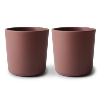 Mushie Mushie - Set of 2 Cups, Woodchuck