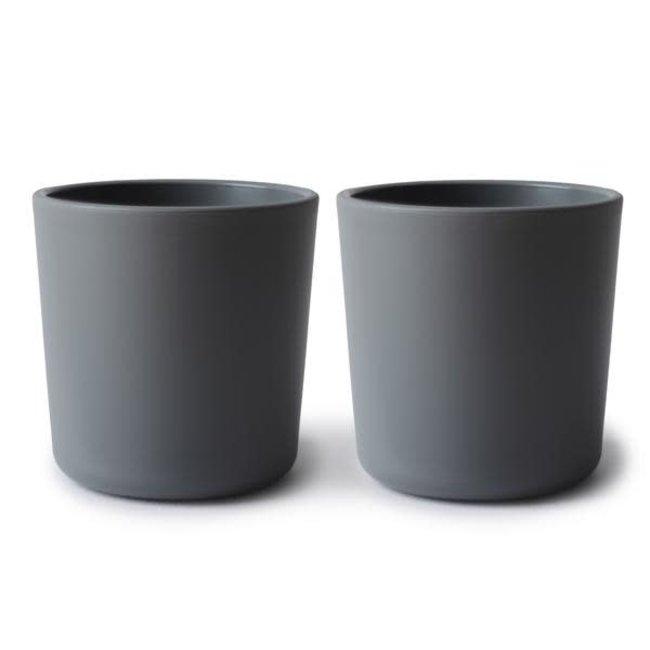 Mushie Mushie - Set of 2 Cups, Smoke