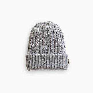 Caribou Caribou - Merino Wool Hat, Light Grey