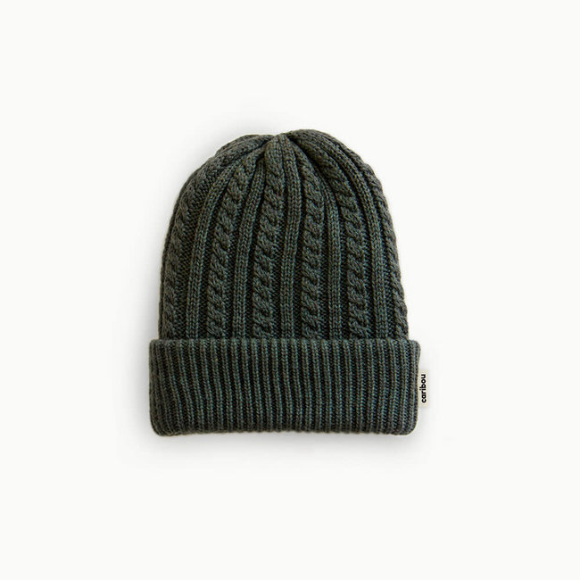 Caribou Caribou - Merino Wool Hat, Khaki