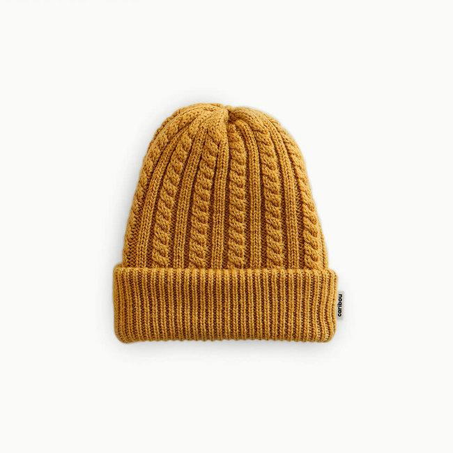 Caribou Caribou - Merino Wool Hat, Mustard