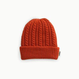Caribou Caribou - Merino Wool Hat, Rust