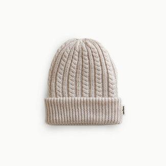 Caribou Caribou - Merino Wool Hat, Ecru