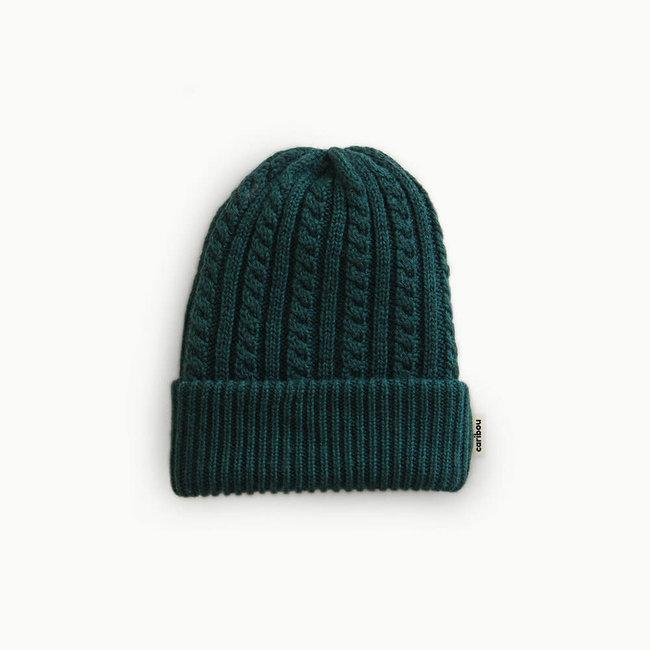 Caribou Caribou - Merino Wool Hat, Emerald