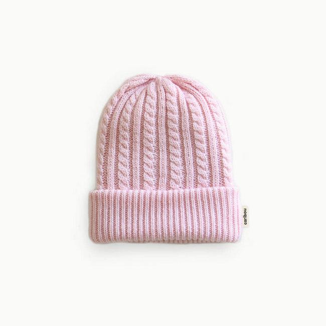 Caribou Caribou - Merino Wool Hat, Pink