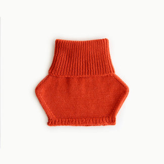 Caribou Caribou - Merino Wool Neck Warmer, Rust