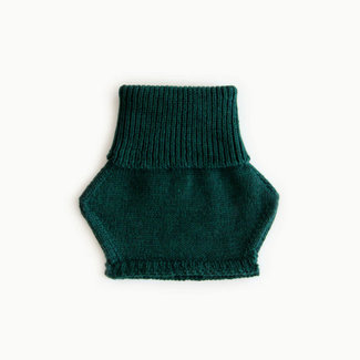 Caribou Caribou - Merino Wool Neck Warmer, Emerald