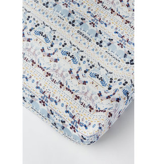 Loulou Lollipop Loulou Lollipop - Bamboo Fitted Crib Sheet, Fair Isle