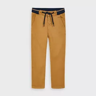 Mayoral Mayoral - Regular Fit Soft Pants, Almond