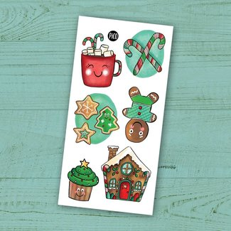 Pico Tatouages Temporaires Pico Tatoo - Temporary Tattoos, Christmas Treats