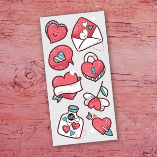 Pico Tatouages Temporaires Pico Tatoo - Temporary Tattoos, Valentine's Day