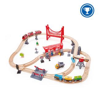 Hape Hape - Busy City Rail Set