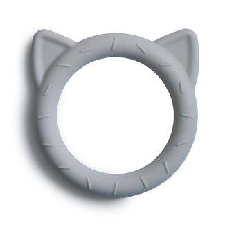 Mushie Mushie - Cat Teething Ring, Stone