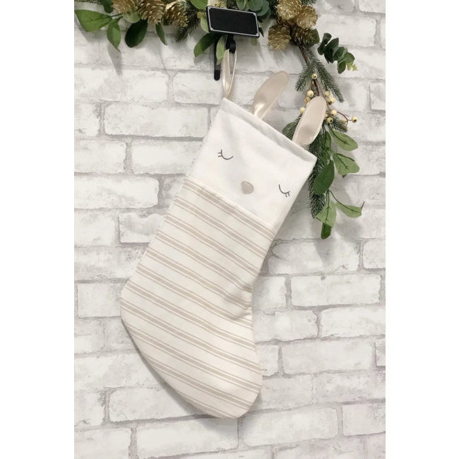 Cyan - Christmas Stocking, Bunny