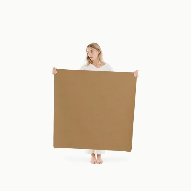 Gathre Gathre - Mini Multifunctional Vegan Leather Mat, Camel