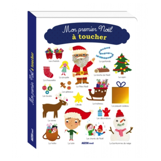 Auzou Auzou - My First Christmas Touch Book