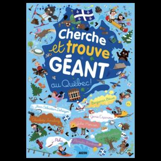 Auzou Auzou - Livre Cherche et Trouve Géant du Québec