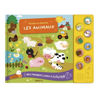 Auzou Auzou - Listening and Finding Animals Book