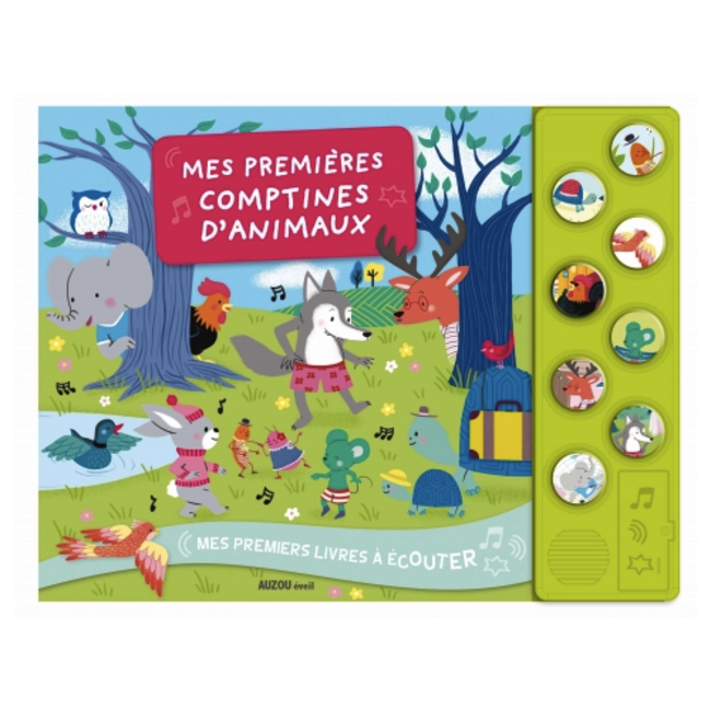 Auzou Auzou - Sound Book My First Animal Nursery Rhymes