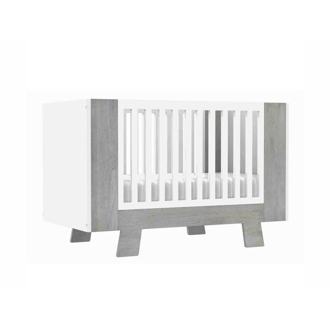Dutailier Dutailier Pomelo - Convertible Crib, Rustic Grey, Stock Program