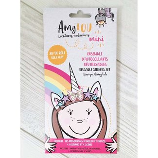 AmyLOU AmyLOU - Reusable Stickers Set, Fairy Tale