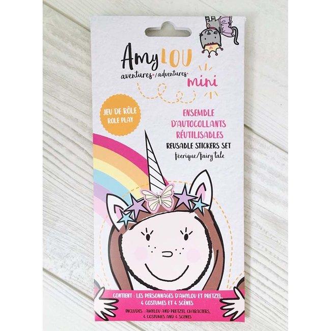 AmyLOU AmyLOU - Reusable Stickers Set, Fairy Tale