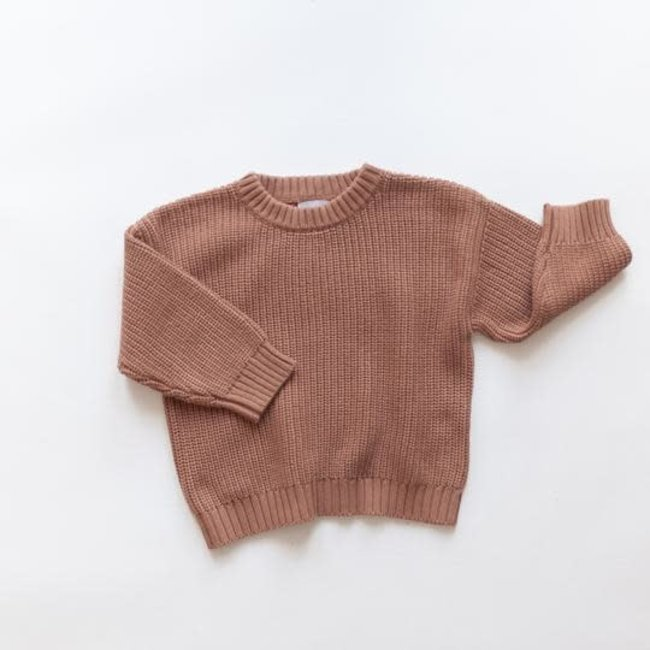 Kindly the label Kindly the Label - Knit Pullover, Claypot