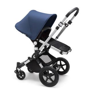 Bugaboo Bugaboo, Cameleon3 Plus - Complete Stroller, Aluminium Black Base/Sky Blue Fabric