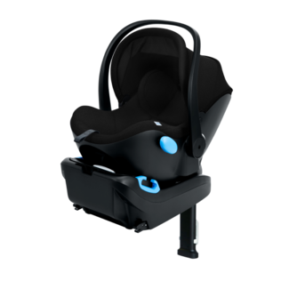 Clek Clek LIING - Infant Car Seat C-Zero + Premium Fabric, Pitch Black