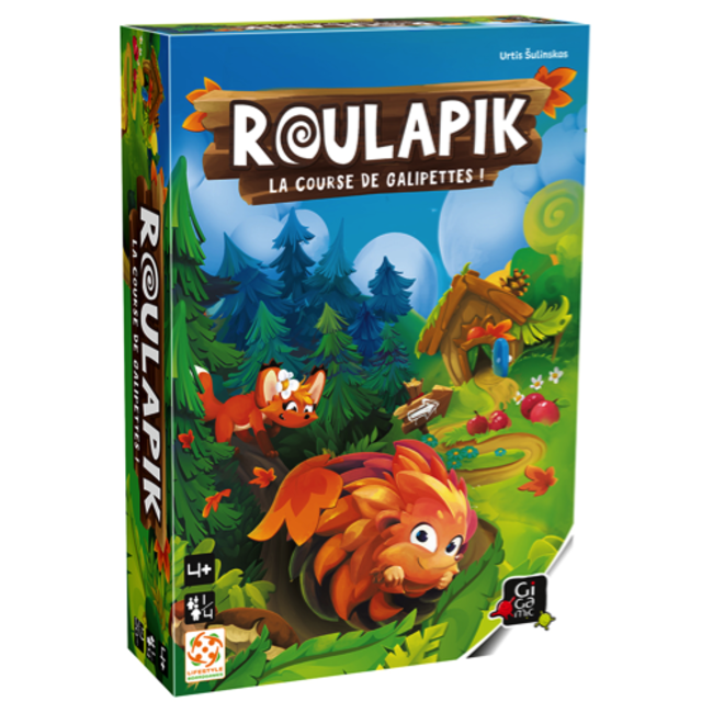 Gigamic Gigamic - Roulapik Game